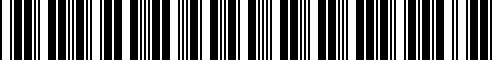 Barcode for ZAW355000AS